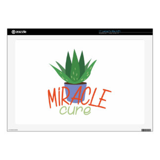 """Miracle Cure 17"""" Laptop Decals"""