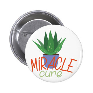 Miracle Cure 2 Inch Round Button