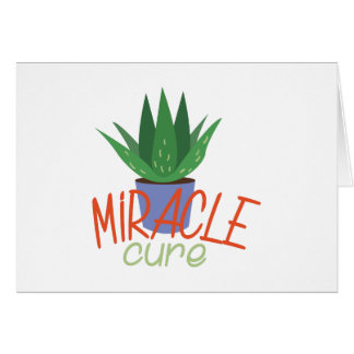 Miracle Cure Card
