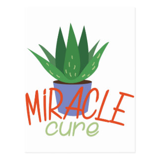 Miracle Cure Postcard