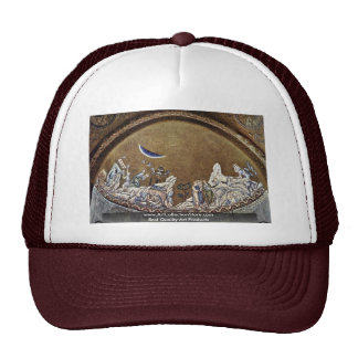 Miracle During The Exodus  By Byzantine Mosaicist Trucker Hat