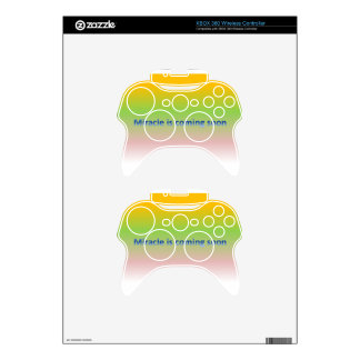 miracle is coming soon xbox 360 controller decal