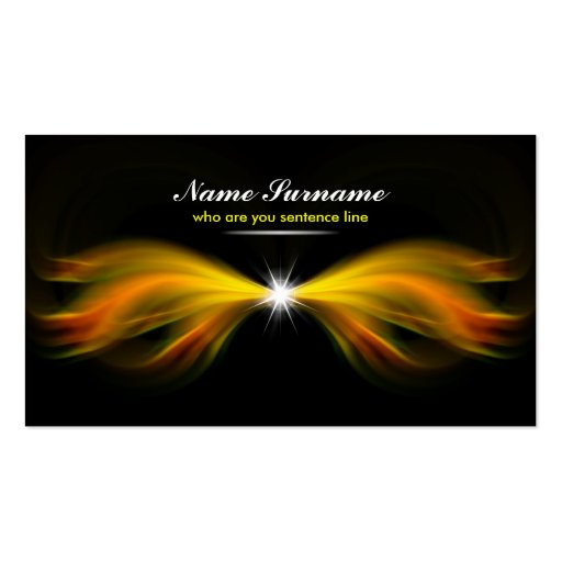 miracle light business card