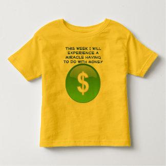 miracle money toddler shirt
