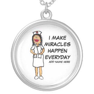 Miracle Nurse Cartoon Custom Jewelry