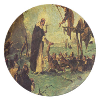 'Miracle of a Dominican Saint' Dinner Plate