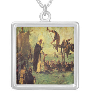 Miracle of a Dominican Saint Pendants
