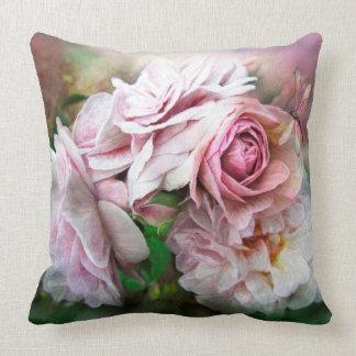 Miracle Of A Rose - Mauve Art Designer Pillow