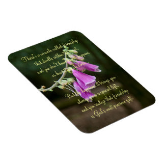 Miracle Of Friendship Poem Plaque Magnet