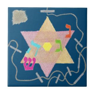 Miracle of Hanukkah Remembrance Tile