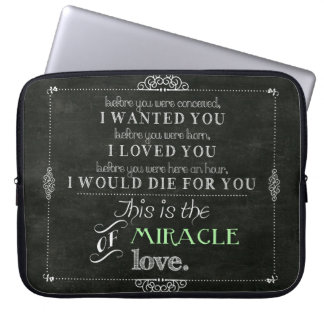 Miracle of Love Computer Sleeve