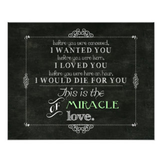 Miracle of Love Photo Print
