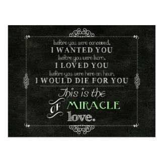 Miracle of Love Post Card