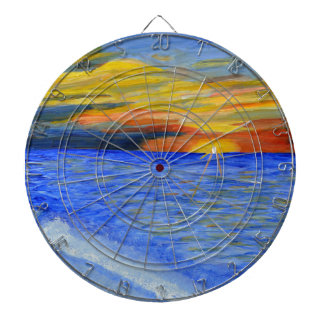 Miracle of Sunset Dart Board