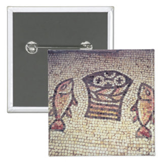 Miracle of the Bread and the Fishes 2 Inch Square Button