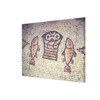 Miracle of the Bread and the Fishes Canvas Print
