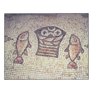 Miracle of the Bread and the Fishes Wood Wall Art
