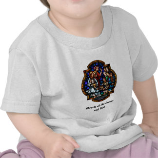 Miracle of the Loaves and Fish Stained Art Shirts