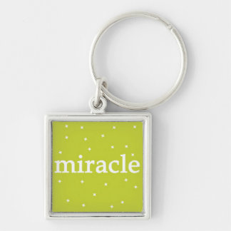 Miracle on Green Keychain