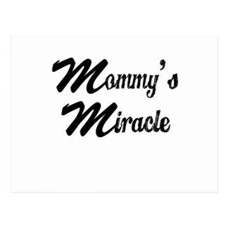 miracle postcard