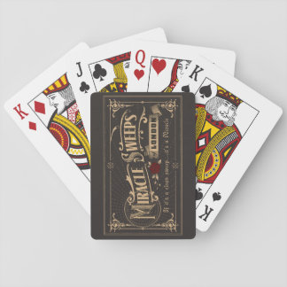 Miracle Sweeps PLAIN Playing Cards