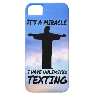 MIRACLE: UNLIMITED TEXTING iPhone SE/5/5s CASE