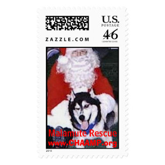 Miracle with Santa Postage Stamps