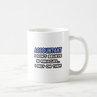 Miracles and Accountants Classic White Coffee Mug