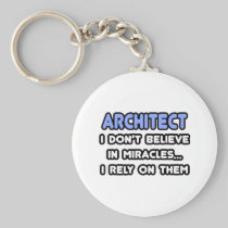 Miracles and Architects Keychain