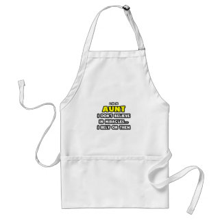 Miracles and Aunts ... Funny Apron