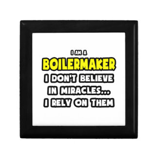 Miracles and Boilermakers Funny Gift Boxes