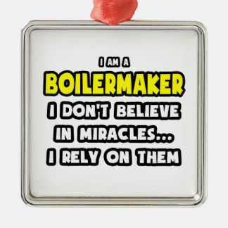 Miracles and Boilermakers Funny Christmas Tree Ornaments