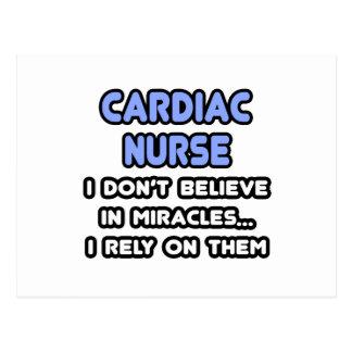 Miracles and Cardiac Nurses Postcard