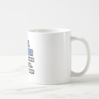 Miracles and Civil Engineers Coffee Mug