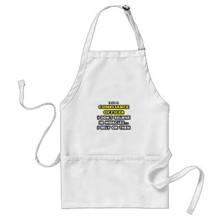 Miracles and Compliance Officer ... Funny Aprons