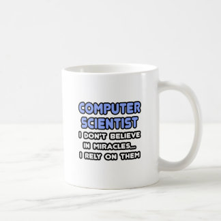 Miracles and Computer Scientists Coffee Mug