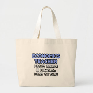 Miracles and Economics Teachers Tote Bag