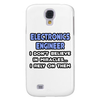 Miracles and Electronics Engineers Samsung Galaxy S4 Case