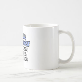Miracles and Medical Technologists Classic White Coffee Mug