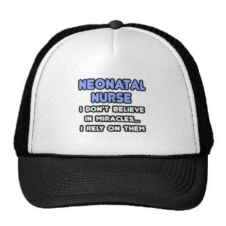 Miracles and Neonatal Nurses Mesh Hat