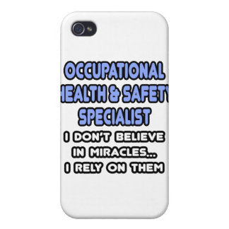 Miracles and Occ Health and Safety Specialists Case For iPhone 4