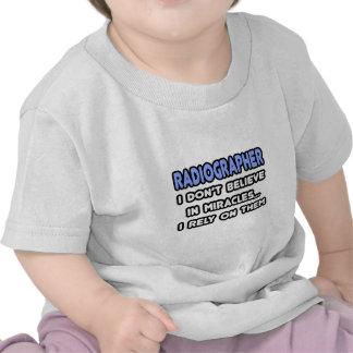 Miracles and Radiographers Tee Shirt