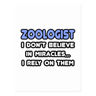 Miracles and Zoologists Post Cards
