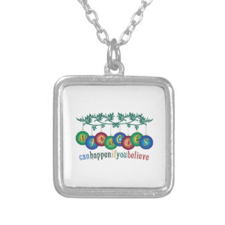 Miracles Can Happen Custom Necklace