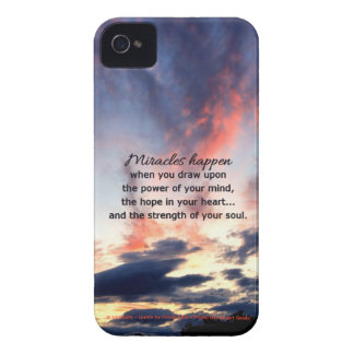 Miracles... Case-Mate iPhone 4 Case