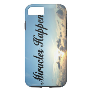 MIRACLES HAPPEN iPhone 7 CASE
