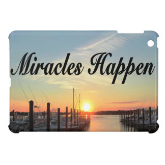 MIRACLES HAPPEN SUNSET PHOTO DESIGN COVER FOR THE iPad MINI