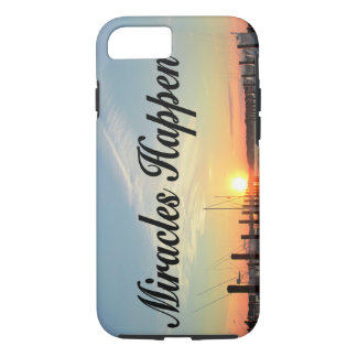 MIRACLES HAPPEN SUNSET PHOTO DESIGN iPhone 8/7 CASE