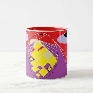 Miracles Happen. Two-Tone Coffee Mug