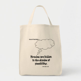 Miracles hide in possibilities tote